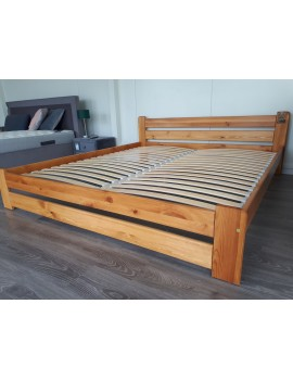 Łóżko sosna 180x200 +...