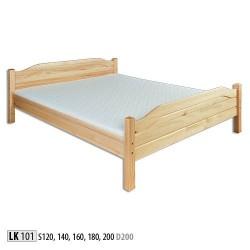 Łóżko sosnowe LK101