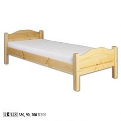 Łóżko sosnowe LK128