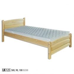 Łóżko sosnowe LK125