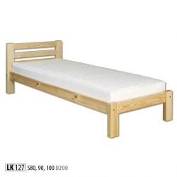 Łóżko sosnowe LK127