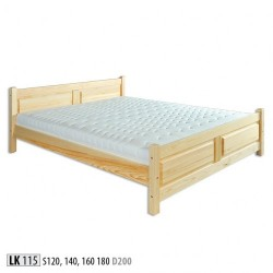Łóżko Sosnowe LK115
